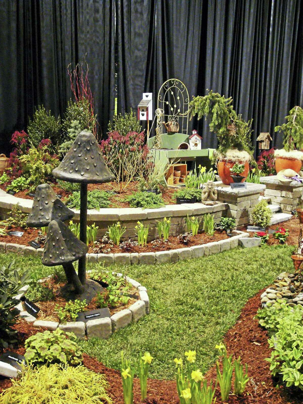 A garden display at last year's show.