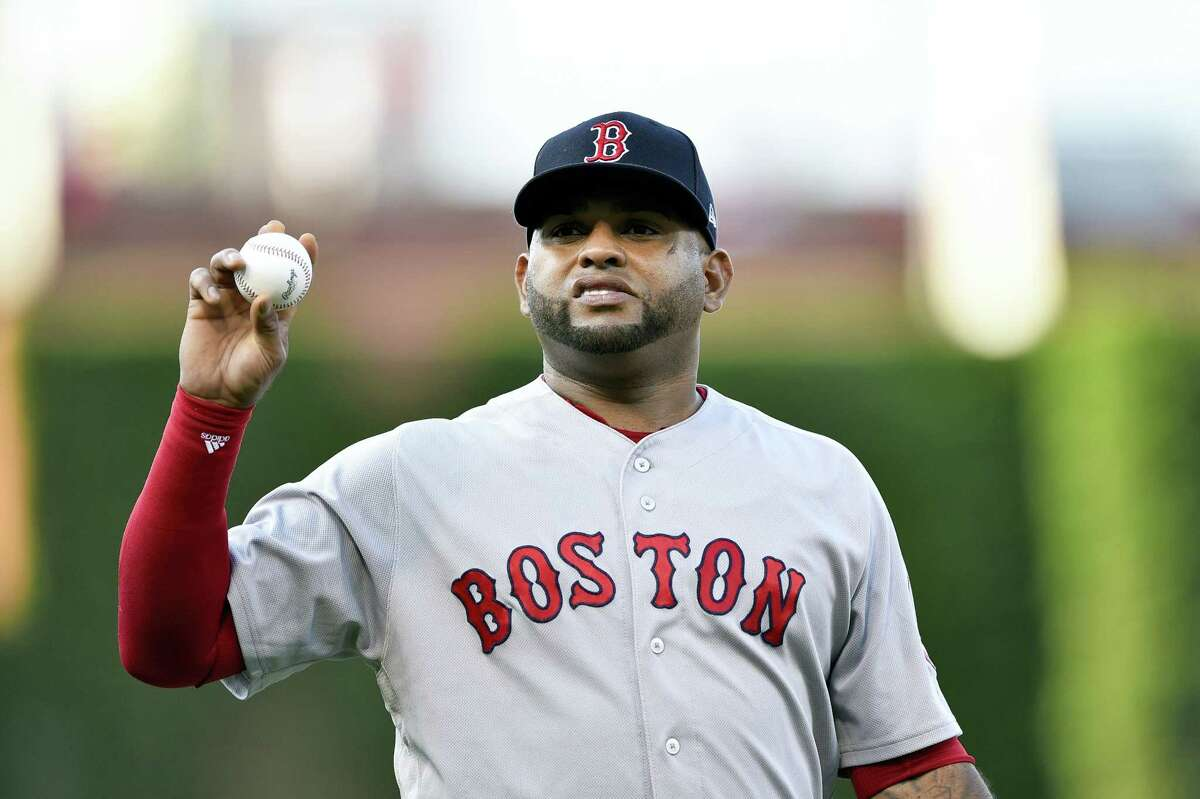 Boston Red Sox's Pablo Sandoval in action during a baseball game against the Philadelphia Phillies, June 14, in Philadelphia.
