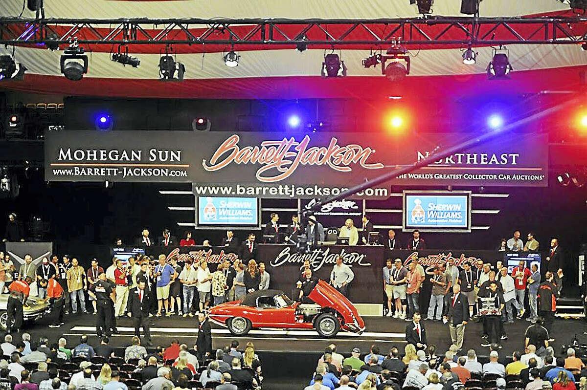 Last year's inaugural Barrett-Jackson Northeast Auction at Mohegan Sun.