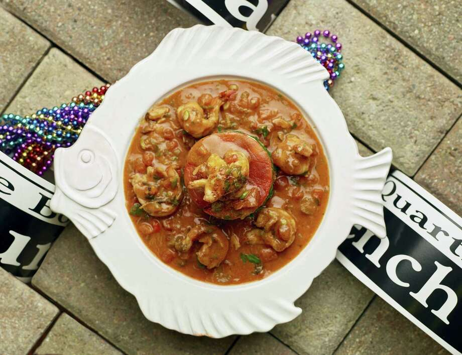 Celebrate Mardi Gras with shrimp etouffee. Photo: Phil Mansfield — The Culinary Institute Of America Via AP   / © 2016 The Culinary Institute of America - Phil Mansfield