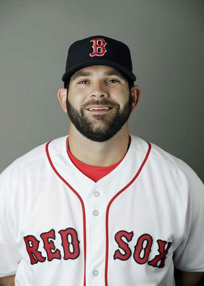 New Red Sox first baseman Mitch Moreland. Photo: David Goldman — The Associated Press   / MLBPV AP