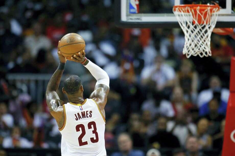 Cleveland Cavaliers forward LeBron James. Photo: Todd Kirkland — The Associated Press   / 2016