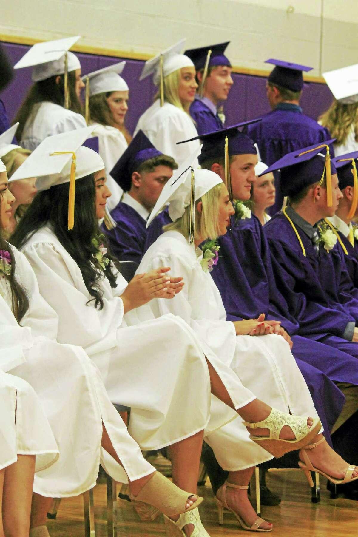 Westbrook High School seniors graduated Monday night.