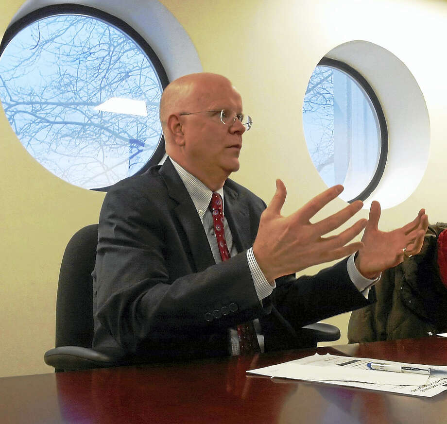 Connecticut Comptroller Kevin Lembo File photo Photo: Journal Register Co.