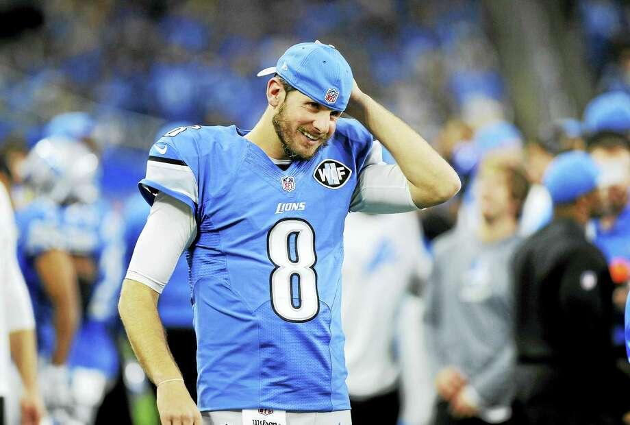 Former UConn star and Detroit Lions quarterback Dan Orlovsky. Photo: The Associated Press File Photo   / FR171038 AP