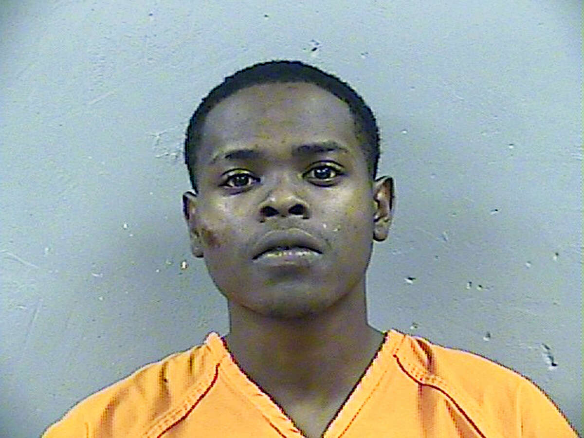 This Madison County Detention Center booking photograph taken shows Byron McBride. Madison County District Attorney Michael Guest announced at a news conference that authorities plan to charge McBride, Dwan Wakefield, and Tyreek Washington,in the death of 6-year old Kingston Frazier. Authorities found Frazier shot at least once in the back seat of his mother's stolen car, which Jackson Police Cmdr. Tyree Jones said was abandoned in a muddy ditch about 15 miles
