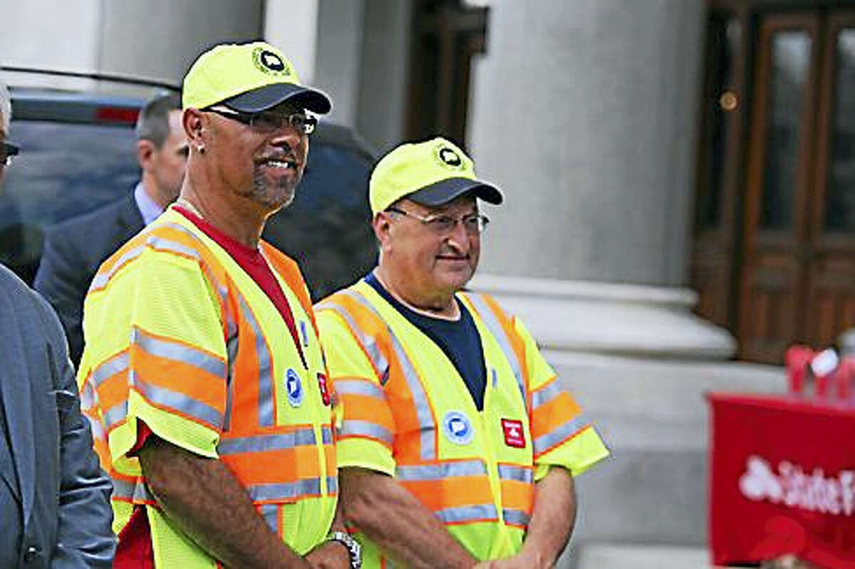 Two state employees who are part of the patrol.