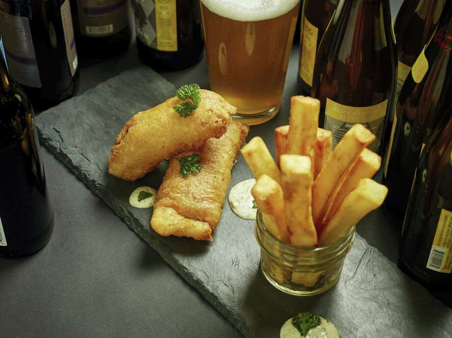 Fish and chips Photo: Phil Mansfield — The Culinary Institute Of America Via AP   / © 2017 The Culinary Institute of America - Phil Mansfield