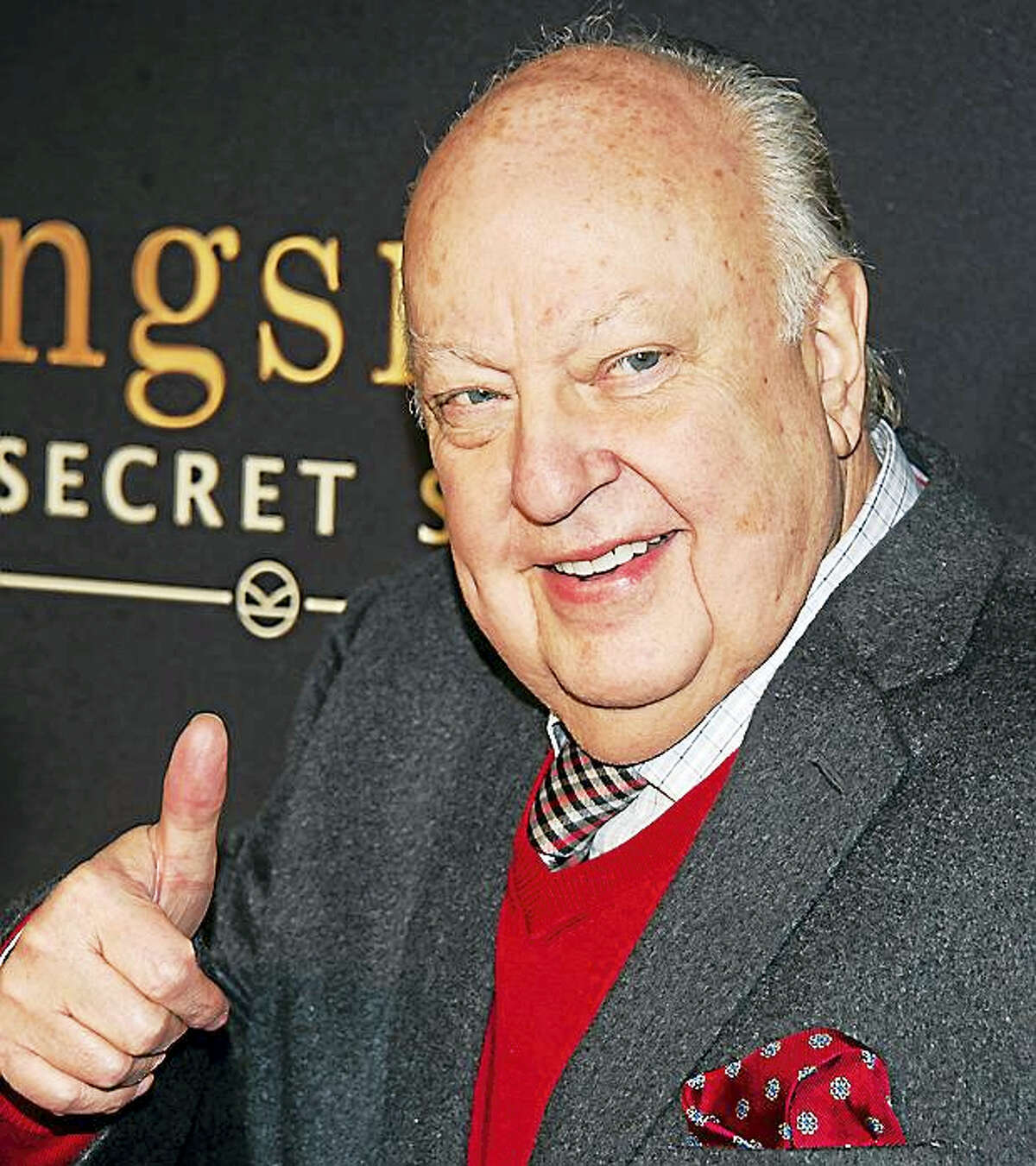 """Roger Ailes attends a special screening of """"Kingsman: The Secret Service"""" in New York on Feb. 9, 2015."""