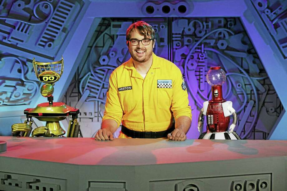 "Crow, Jonah Ray and Tom Servo of ""Mystery Science Theater 3000."" Photo: Photo Courtesy Of Darren Michaels"