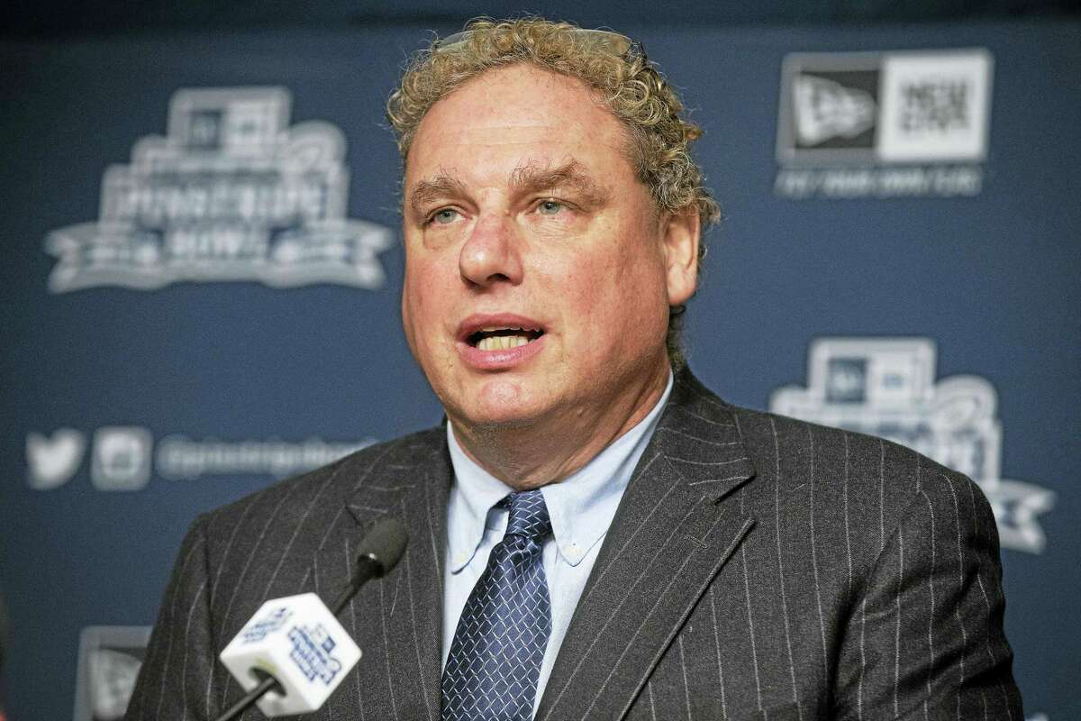Yankees president Randy Levine, above, unnecessarily alienated one of his team's most important pitchers after winning an arbitration case against Dellin Betances says Register columnist Chip Malafronte.