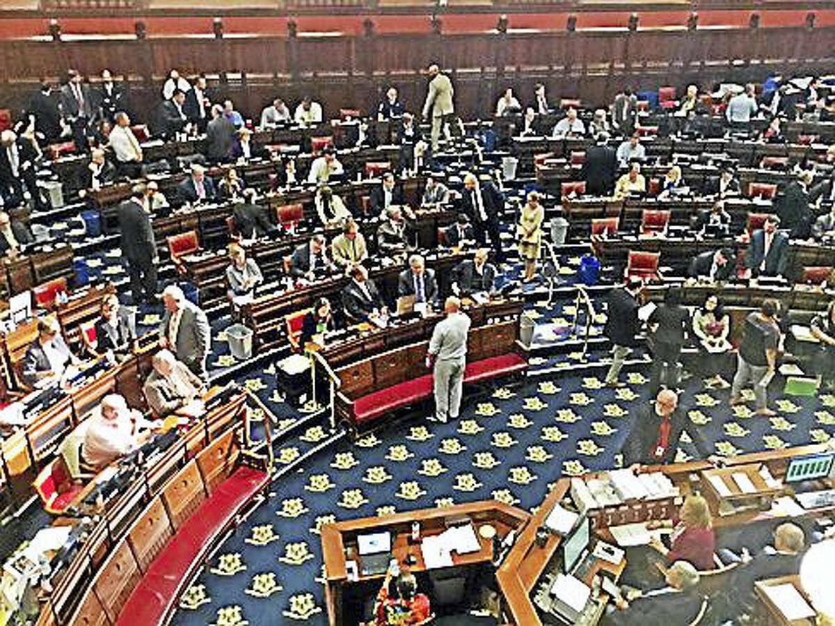 House floor of the state legislature