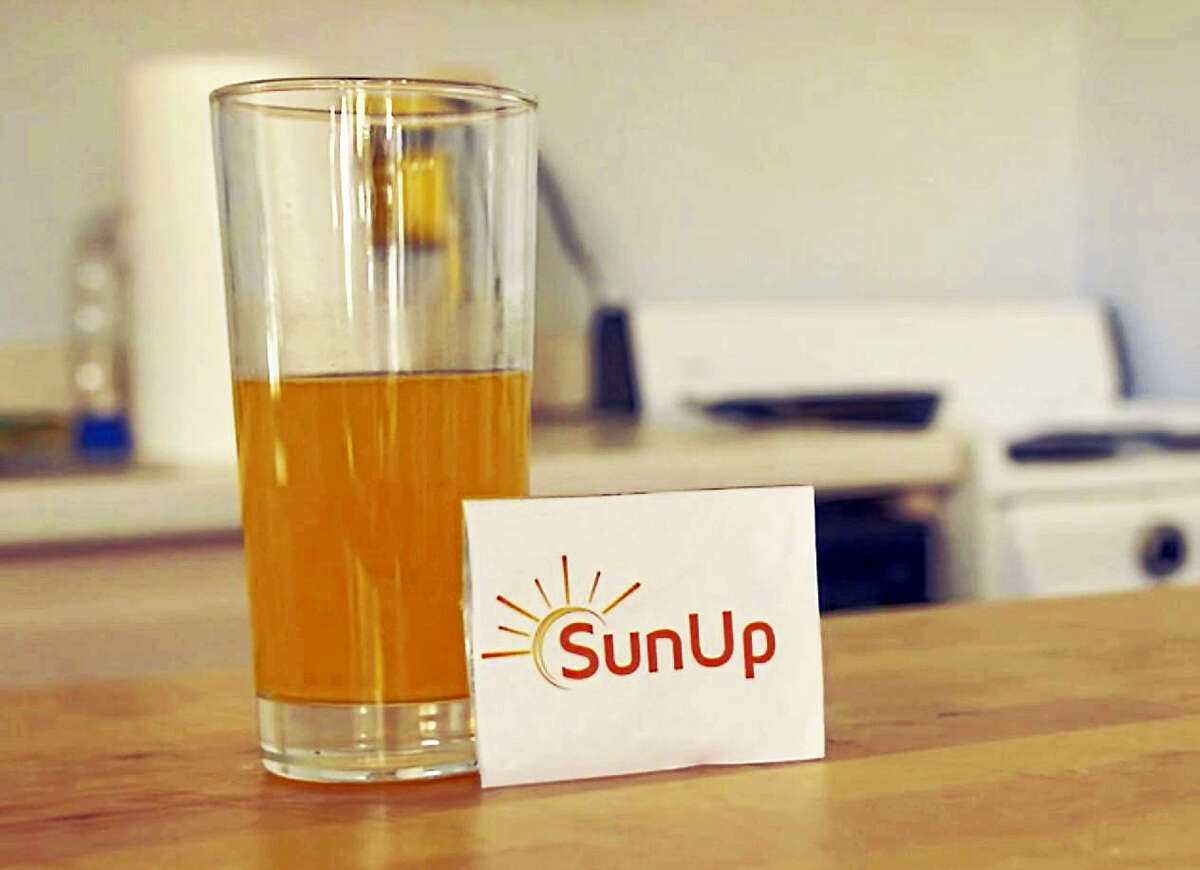 A screenshot of the hangover supplement SunUp.