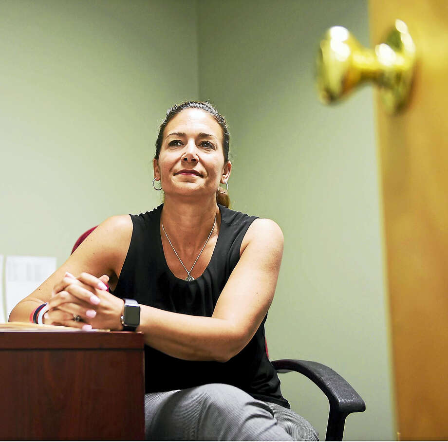 (Peter Hvizdak / Hearst Connecticut Media)East Haven, Connecticut: June 15, 2017. Julie Johnson, a former New Haven Police Captain, in her BHcare office in East Haven, is the Project Coordinator of the Family Justice Center, spearheaded by the Umbrella Center for Domestic Violence Services of BHcare. Photo: Digital First Media / Peter Hvizdak