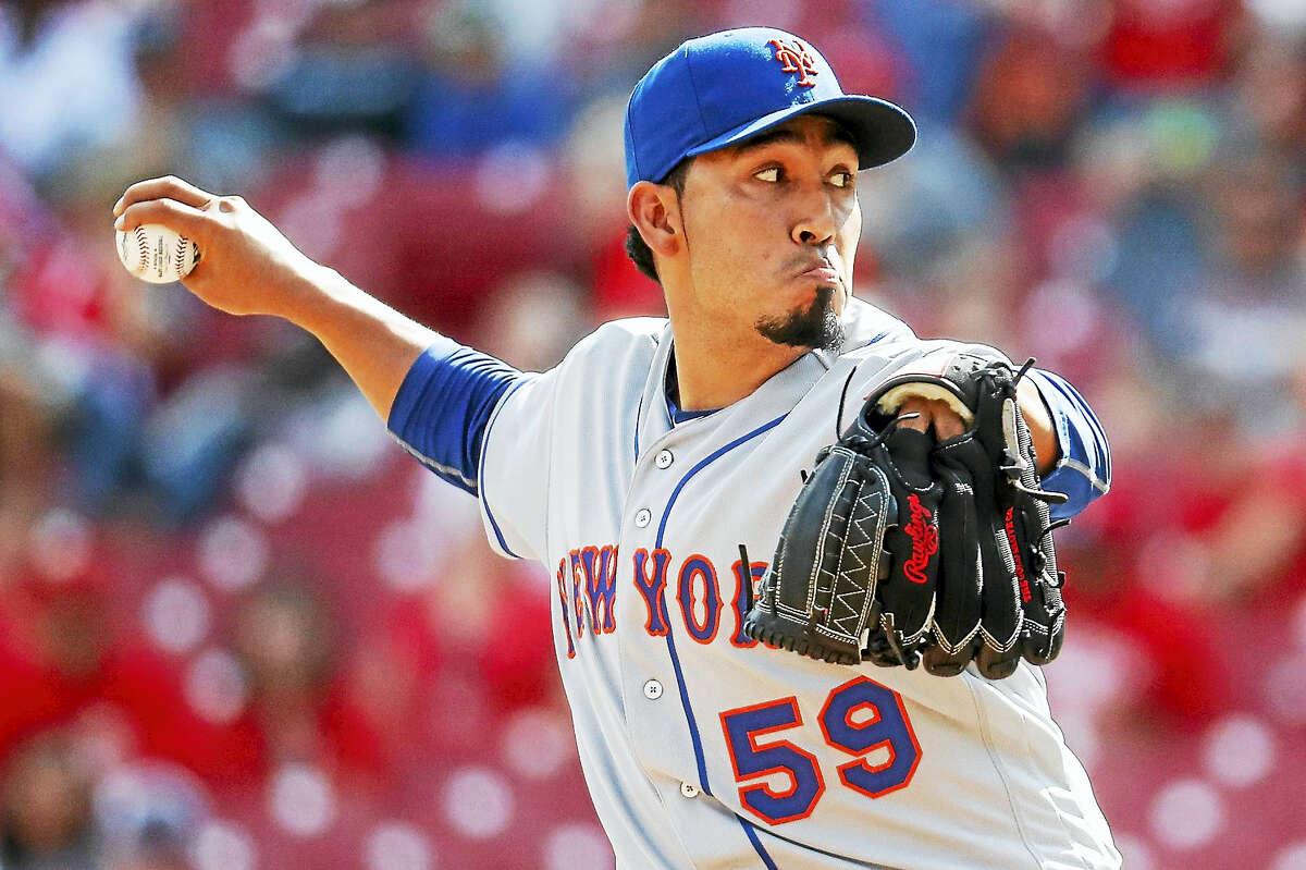 Mets relief pitcher Fernando Salas.