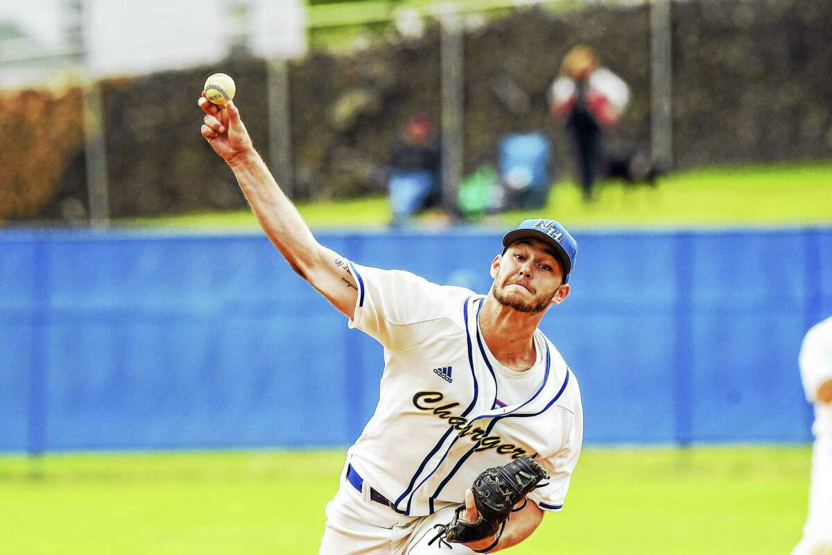 University of New Haven pitcher David Palmer is 8-0 with a 1.40 ERA and 72 strikeouts in 70 innings this season.