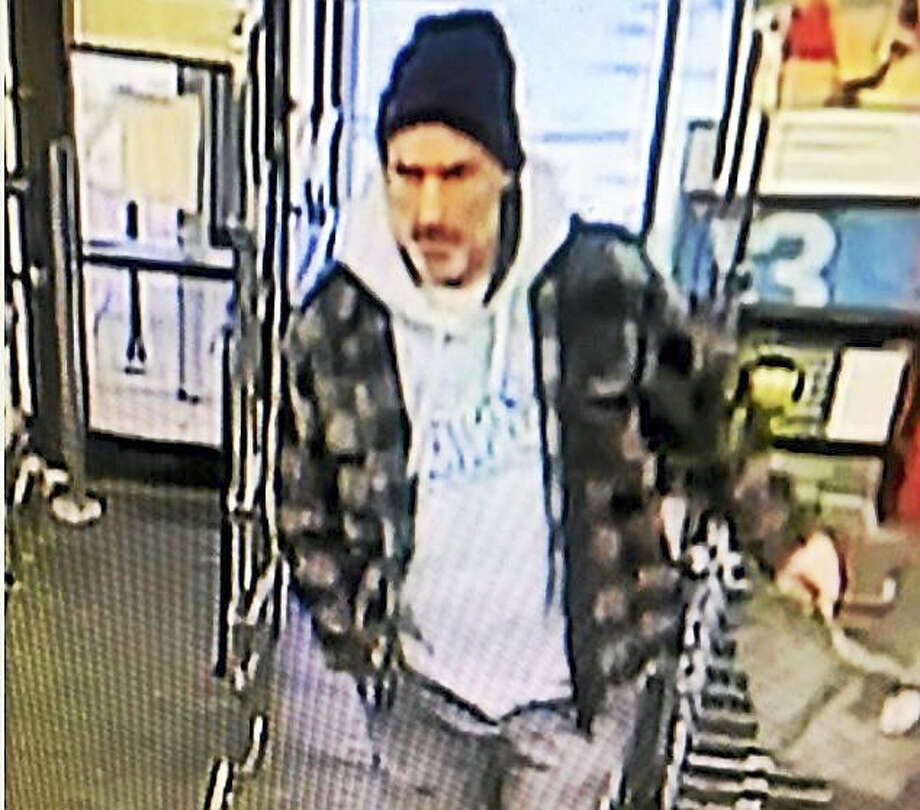 Hamden police are looking for this man who allegedly stole items twice in 10 days from Walgreens, 1697 Whitney Ave. Photo: Photo Courtesy Of The Hamden Police Department
