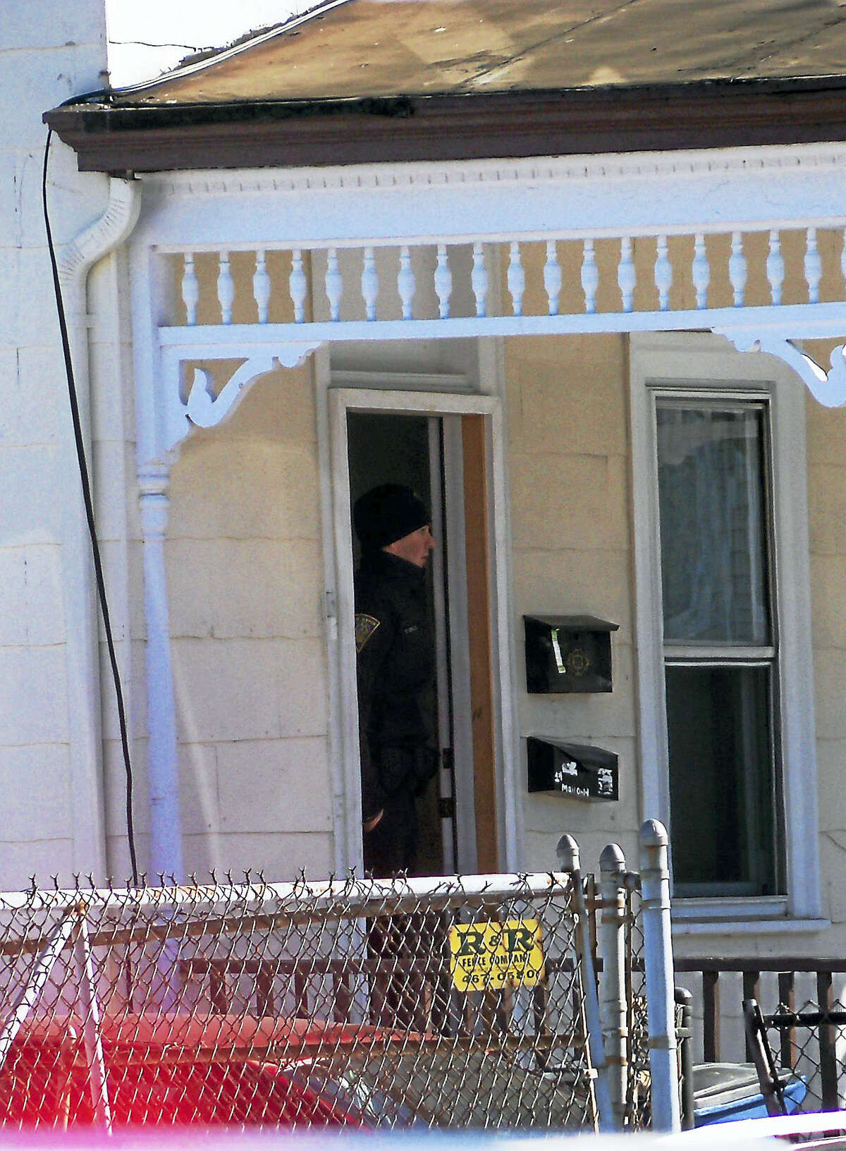 City police are investigating after a New Haven man was shot in the leg late Friday morning. Police could be seen gathering clues in a home at 197 James St. early Friday afternoon.
