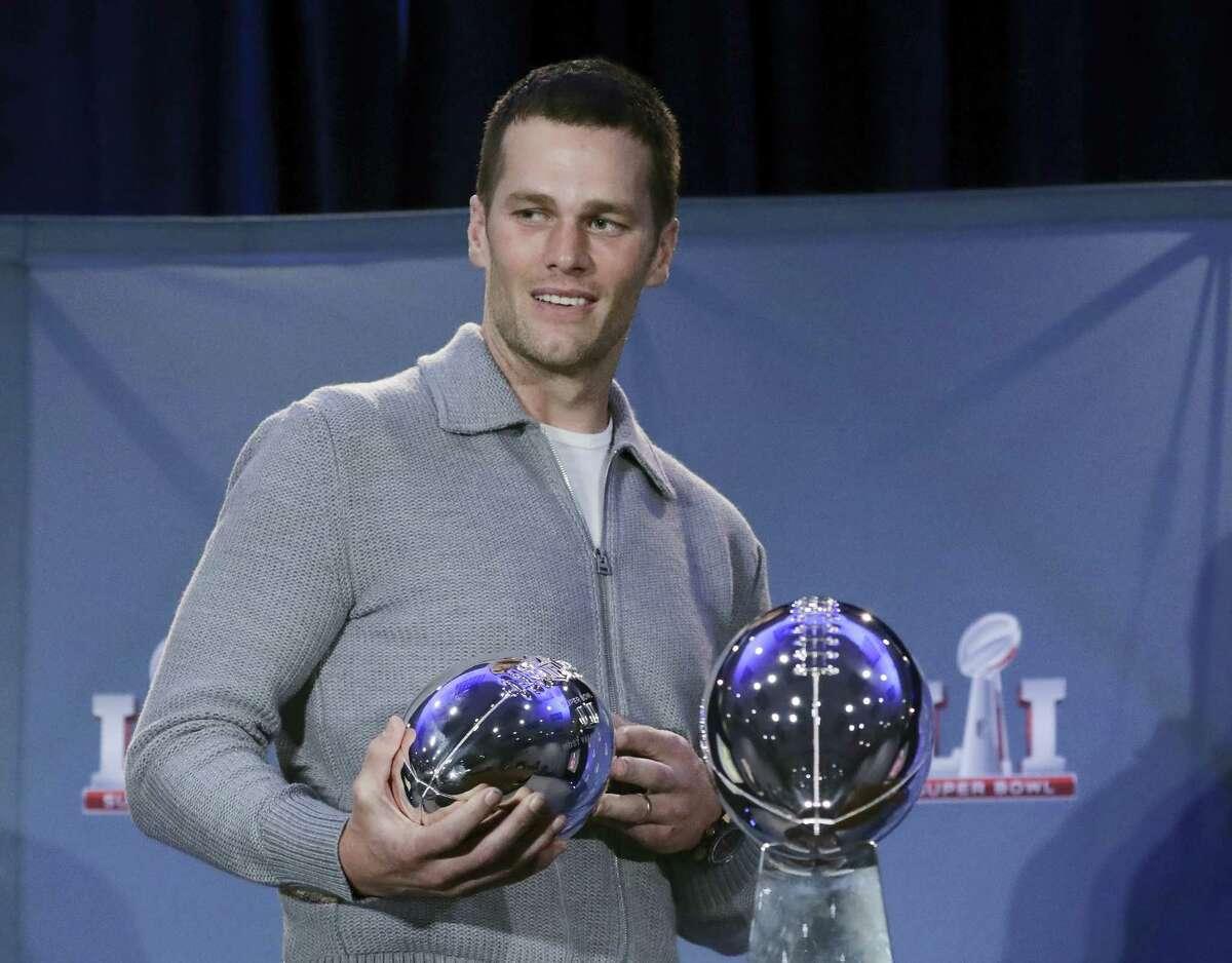 Patriots quarterback Tom Brady.