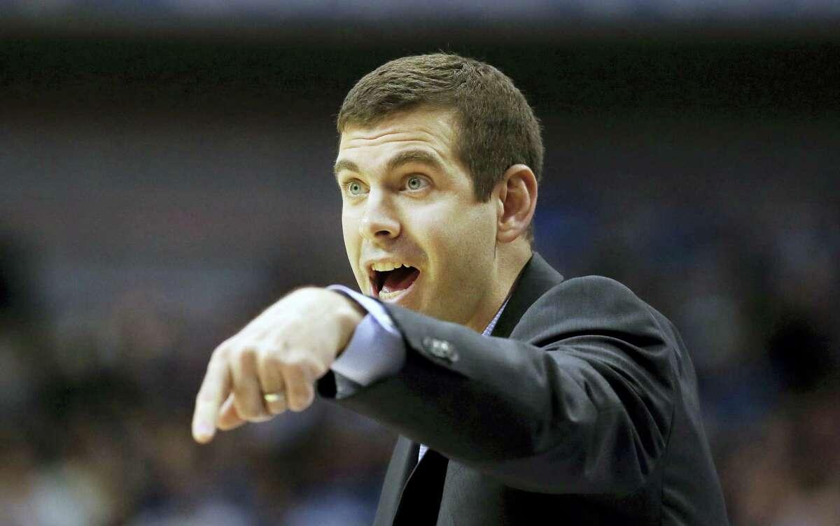 Boston Celtics head coach Brad Stevens.