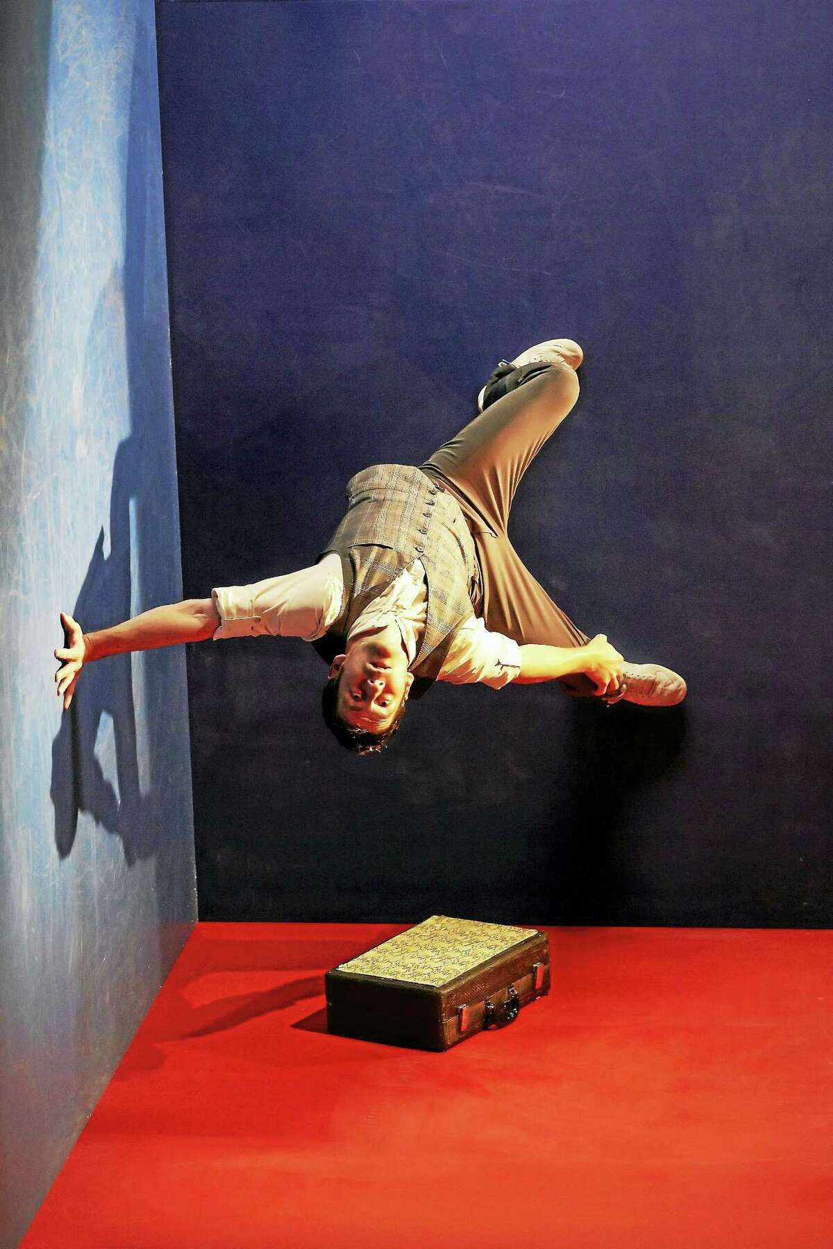 """A moment from """"Leo: The Anti-Gravity Show."""""""