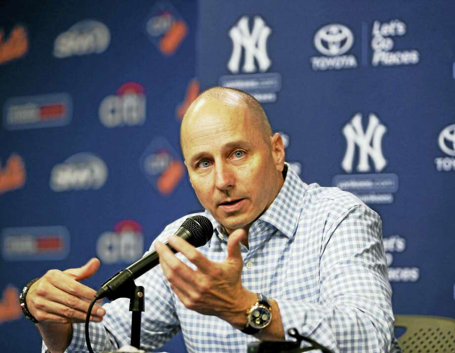 Yankees general manager Brian Cashman. Photo: The Associated Press File Photo   / Copyright 2016 The Associated Press. All rights reserved. This material may not be published, broadcast, rewritten or redistribu