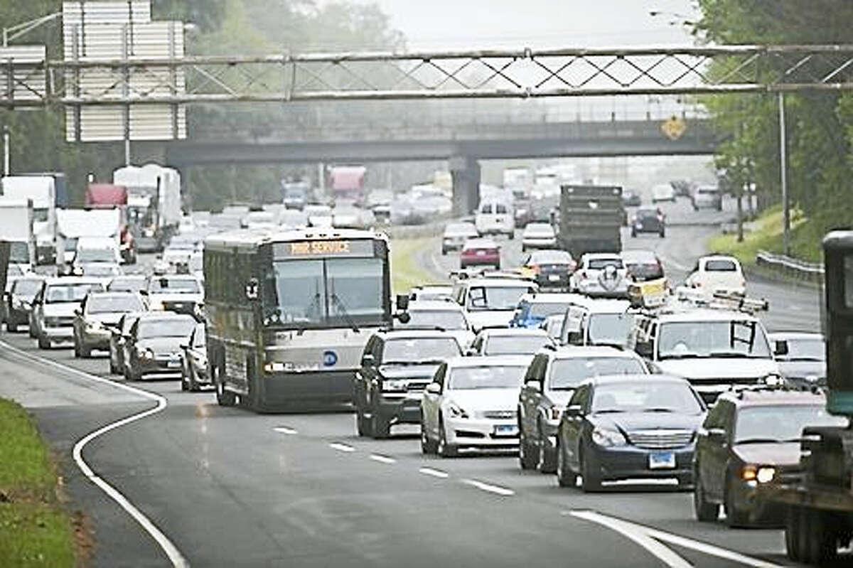 Heavy traffic on I-95