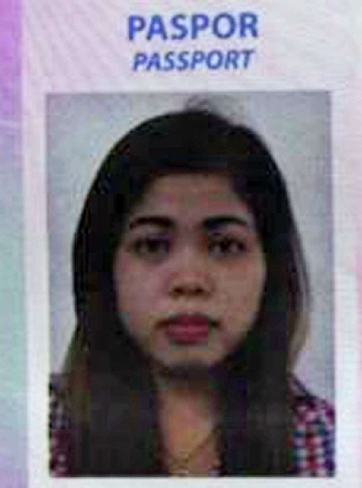 This photo from Indonesian news portal Kumparan obtained on Thursday, Feb. 16, 2017 shows the portrait on the passport of Siti Aisyah, 25, an Indonesian woman suspected to be involved in the killing of the North Korean leader's half brother at Kuala Lumpur Airport on Monday, Feb. 13. Indonesian diplomats in Malaysia have met with the woman and confirmed she is an Indonesian citizen, officials said Thursday.