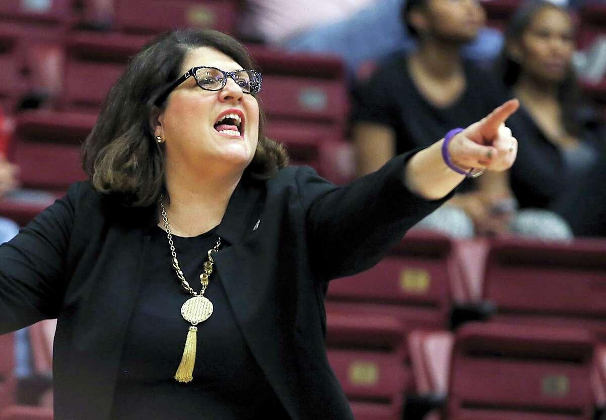 Quinnipiac head coach Tricia Fabbri.
