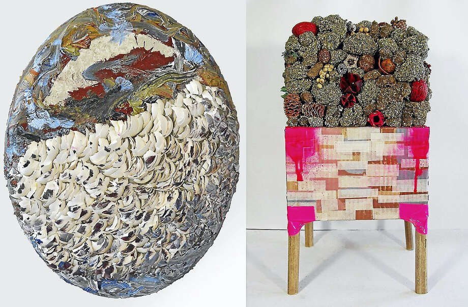 Art by Jessica Gaddis, left, and Allison Hornak. Photo: Contributed