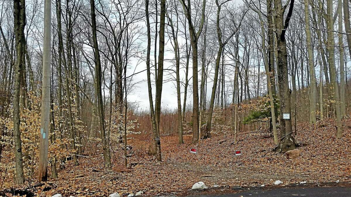 The Rocky Top Road site where a developer is proposing a 288-unit apartment complex.