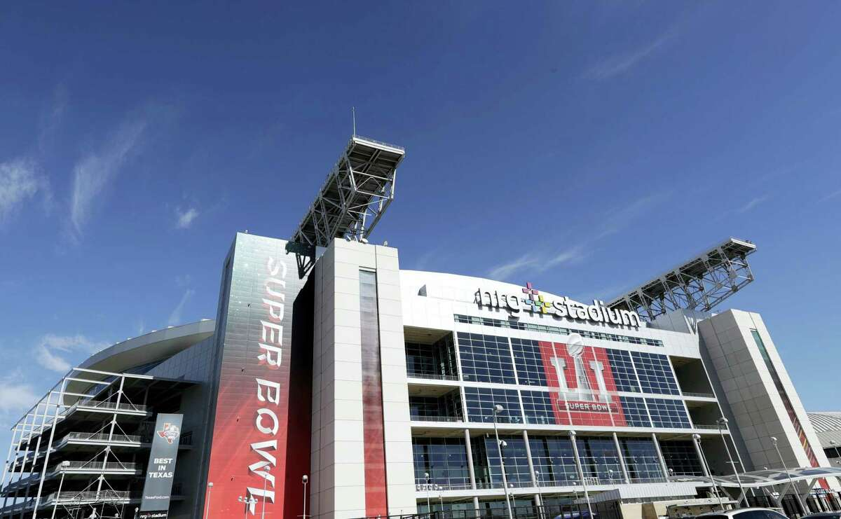 Houston's NRG Stadium, which will host Super Bowl LI.