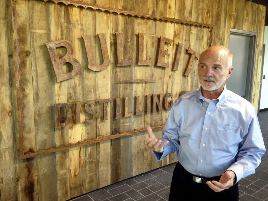 Tom Bulleit, founder of the Bulleit Distilling Co., talks about the brand's future at its new distillery outside Shelbyville, Ky. Photo: Bruce Schreiner — The Associated Press   / AP