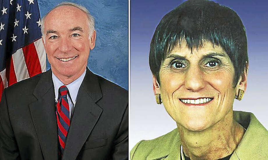 U.S. Reps. Joe Courtney and Rosa DeLauro Photo: File Photos