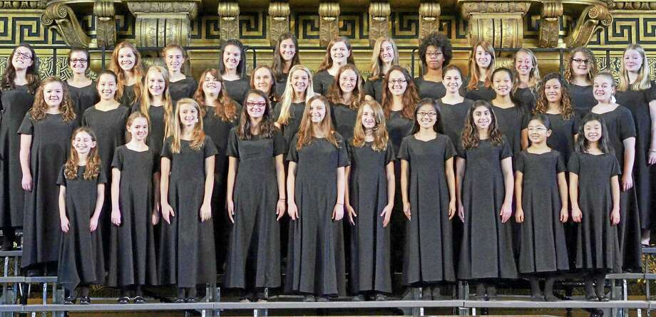 The Elm City Girls' Choir Photo: Contributed