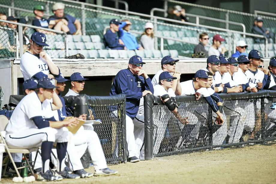 Coach John Stuper and the Yale baseball team begins play in the Ivy League championship series against Penn today. Photo: Sam Rubin — Yale Sports Publicity