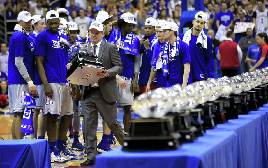 In the most damaging instance of legal trouble at Kansas this season, police investigated a reported rape at the dorm that houses the basketball team. No charges have been filed. From there, more headlines kept piling up involving no fewer than four players. Self said he's proud his team has rallied despite the steady stream of issues. Photo: The Associated Press File Photo   / Copyright 2017 The Associated Press. All rights reserved.