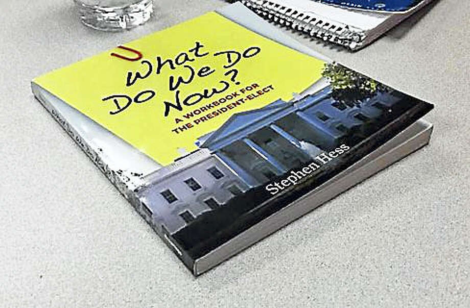 Workbook for the class Photo: Jack Kramer / Ctnewsjunkie
