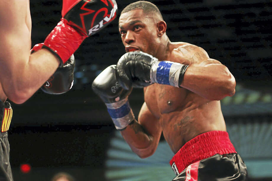 Jimmy Williams defeated Nick DeLomba by unanimous decision Friday night to win the WBC USNBC welterweight title. Photo: Photo By Todd Dandelske — Submitted