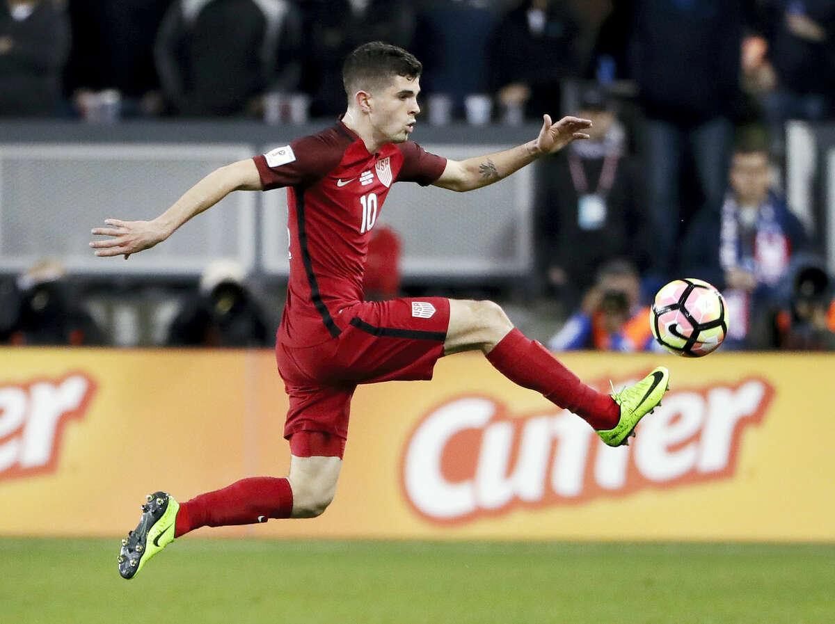 United States national team member Christian Pulisic.