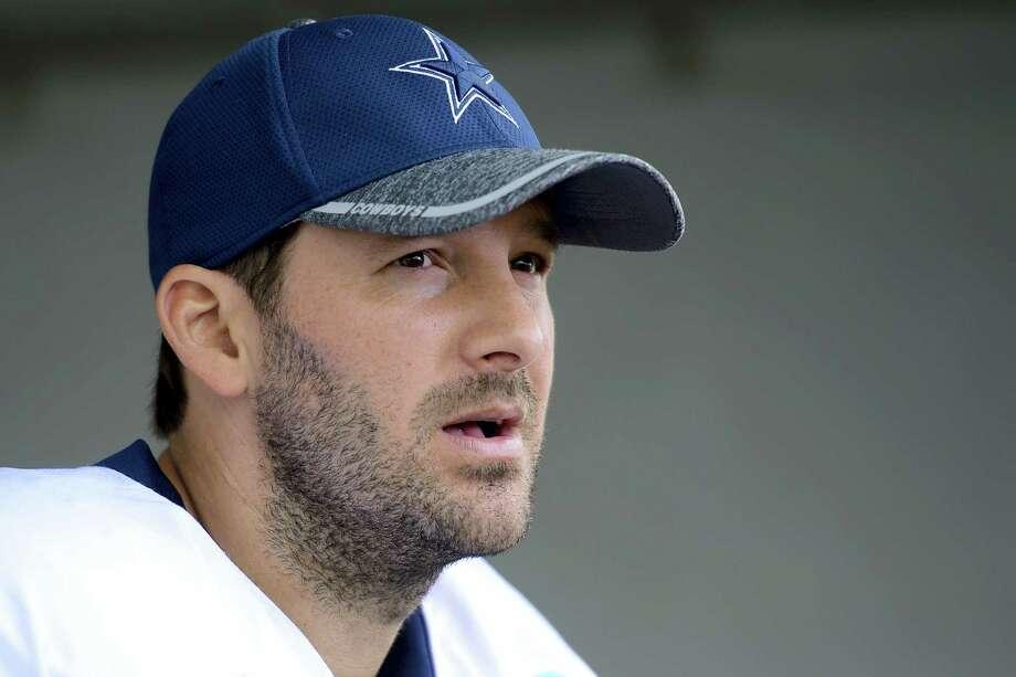Former Dallas Cowboys quarterback Tony Romo. Photo: The Associated Press File Photo   / FR157633 AP
