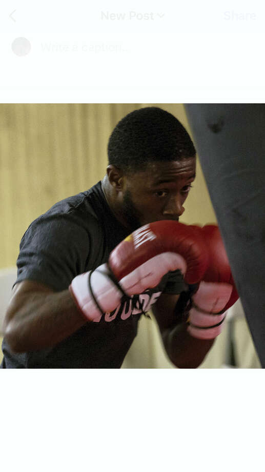 New Haven's Tramaine Williams will face Christopher Martin Saturday night in Las Vegas. Photo: Submitted Photo