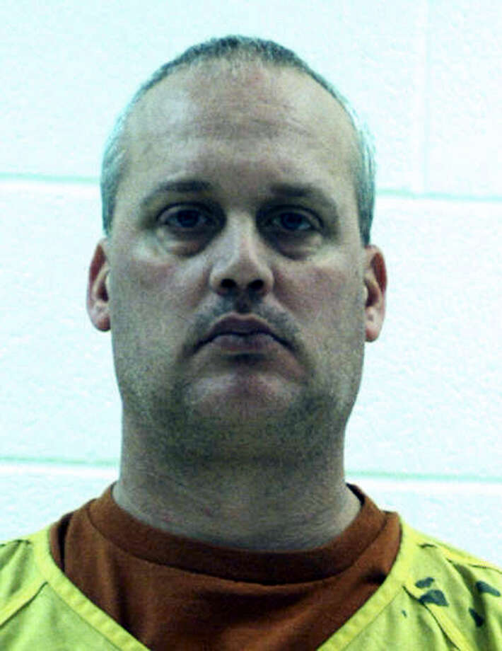This undated photo provided by the Centre County Correctional Facility shows Jeffrey Sandusky who was charged Monday with multiple charges of sexual offenses involving children. Photo: Centre County Correctional Facility Via AP   / Centre County Correctional Facility