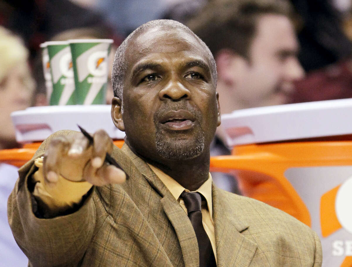 Former New York Knicks star Charles Oakley.