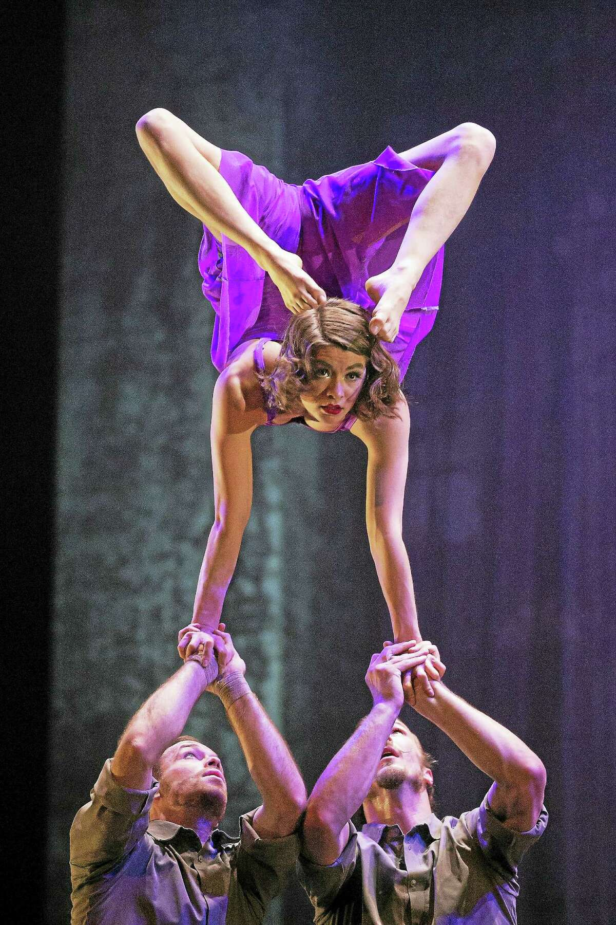 """Acrobatics is a big part of """"Cirkopolis."""""""