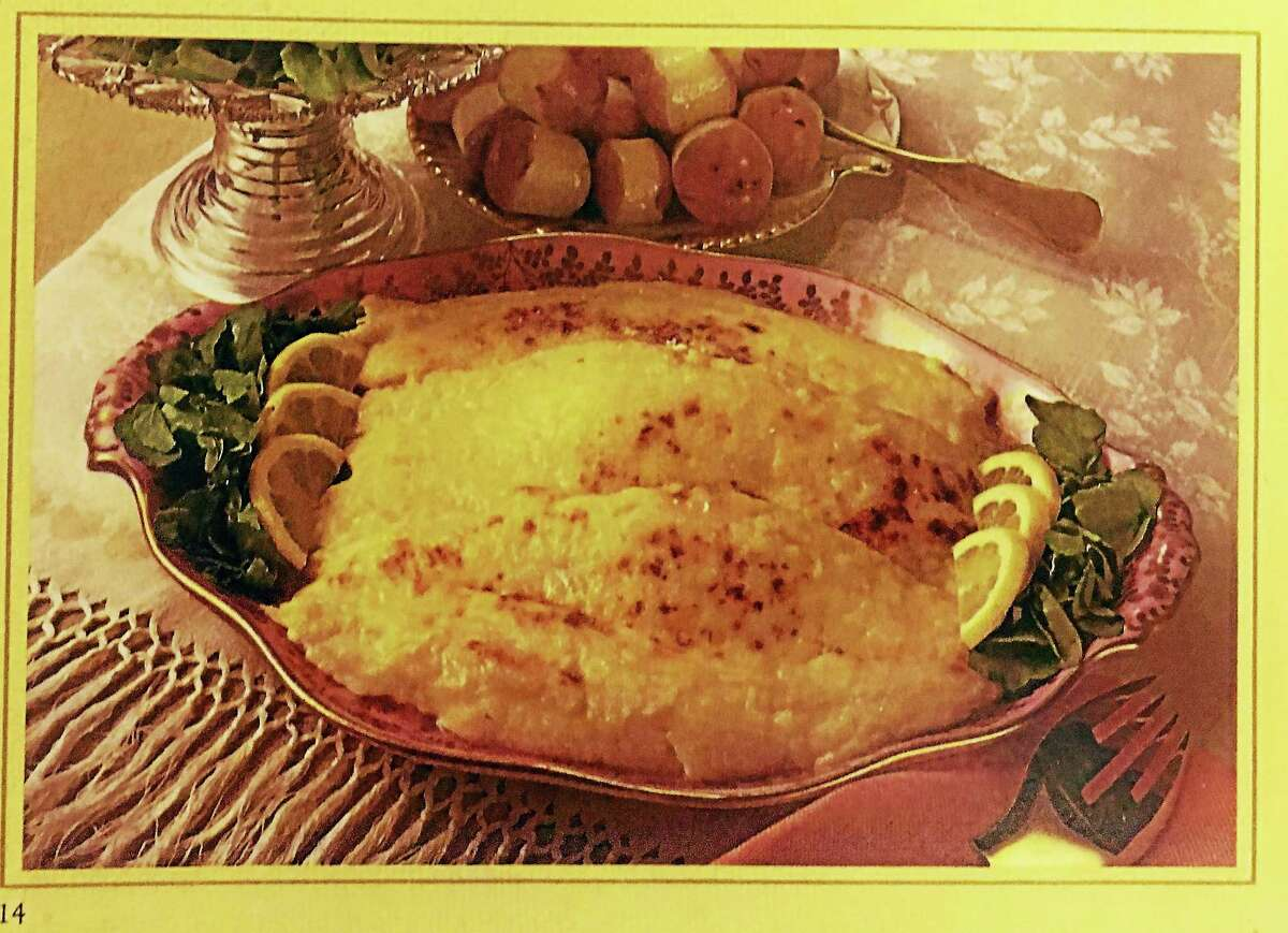 "Finnegan's Flounder in ""The Legendary Liqueur"" cookbook."