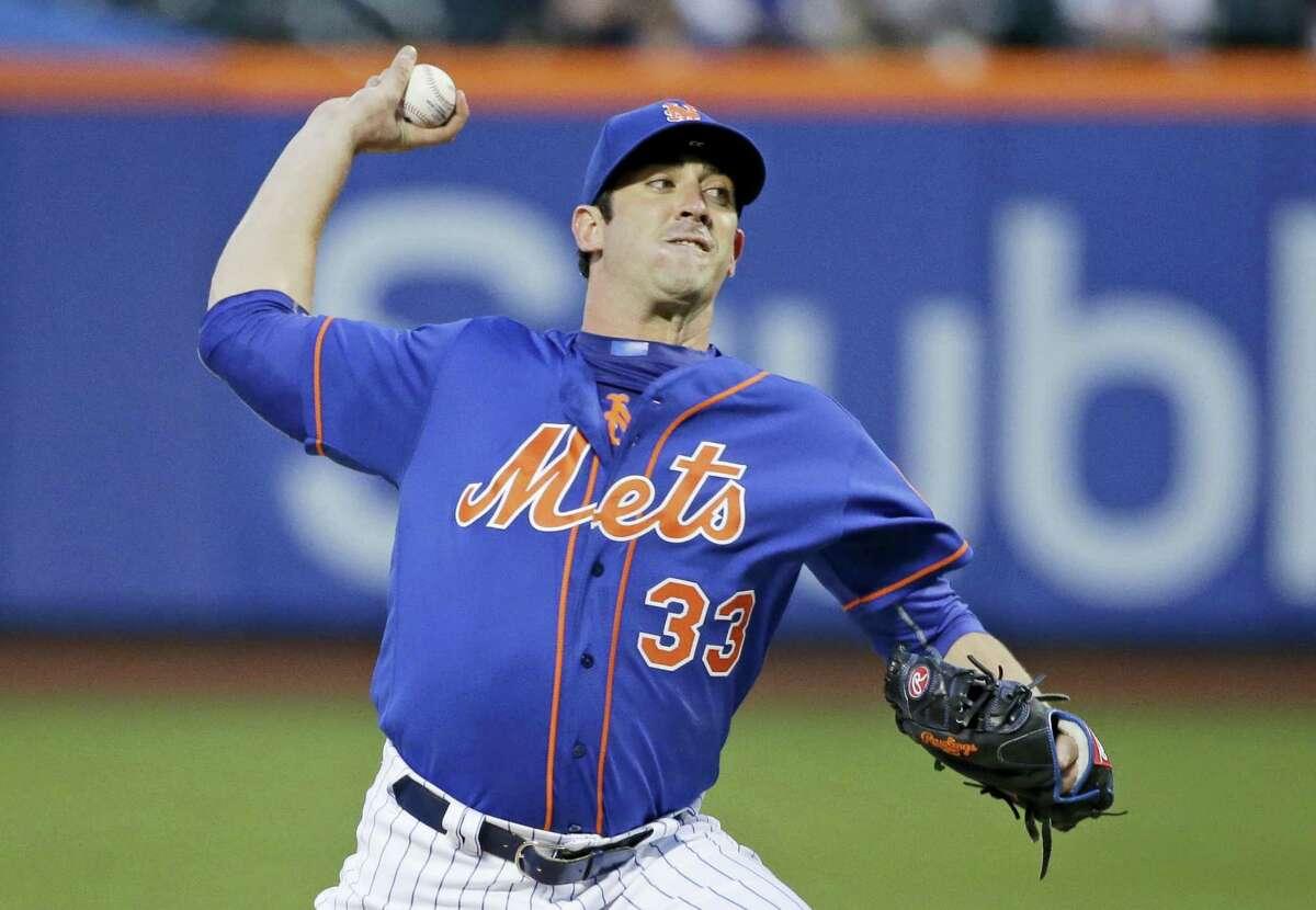 Mets starting pitcher Matt Harvey.