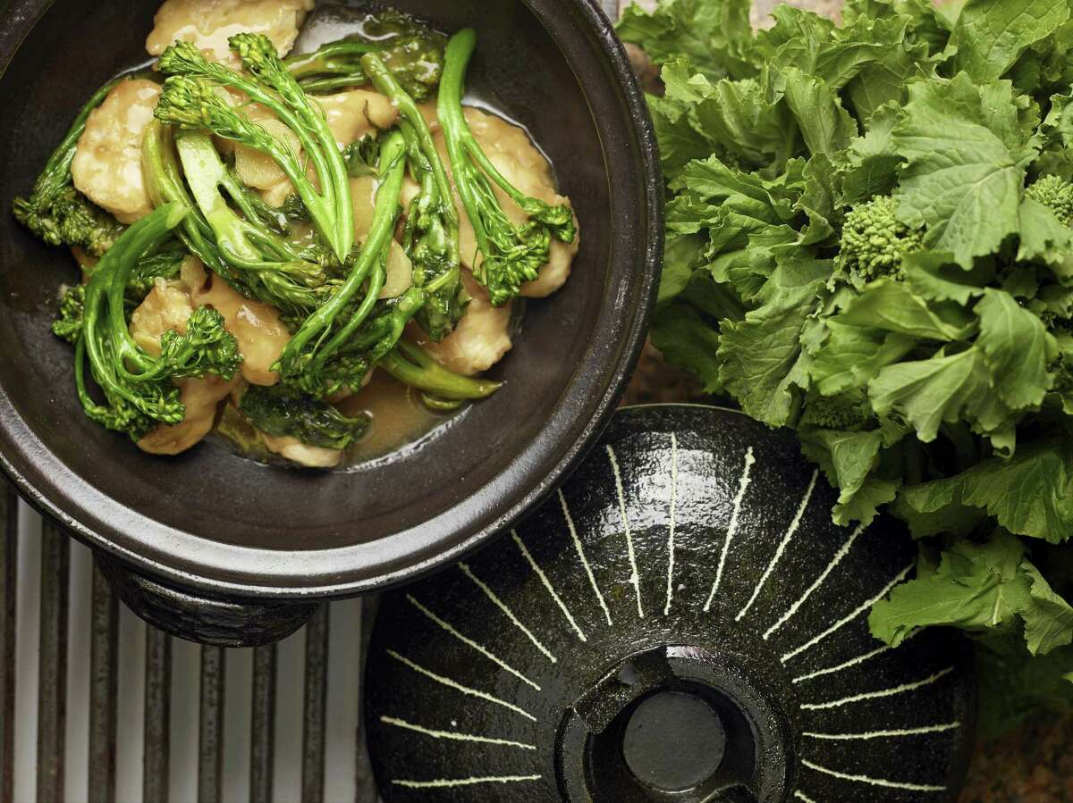 Celebrate the Chinese New Year with Chinese take-out chicken and broccoli.