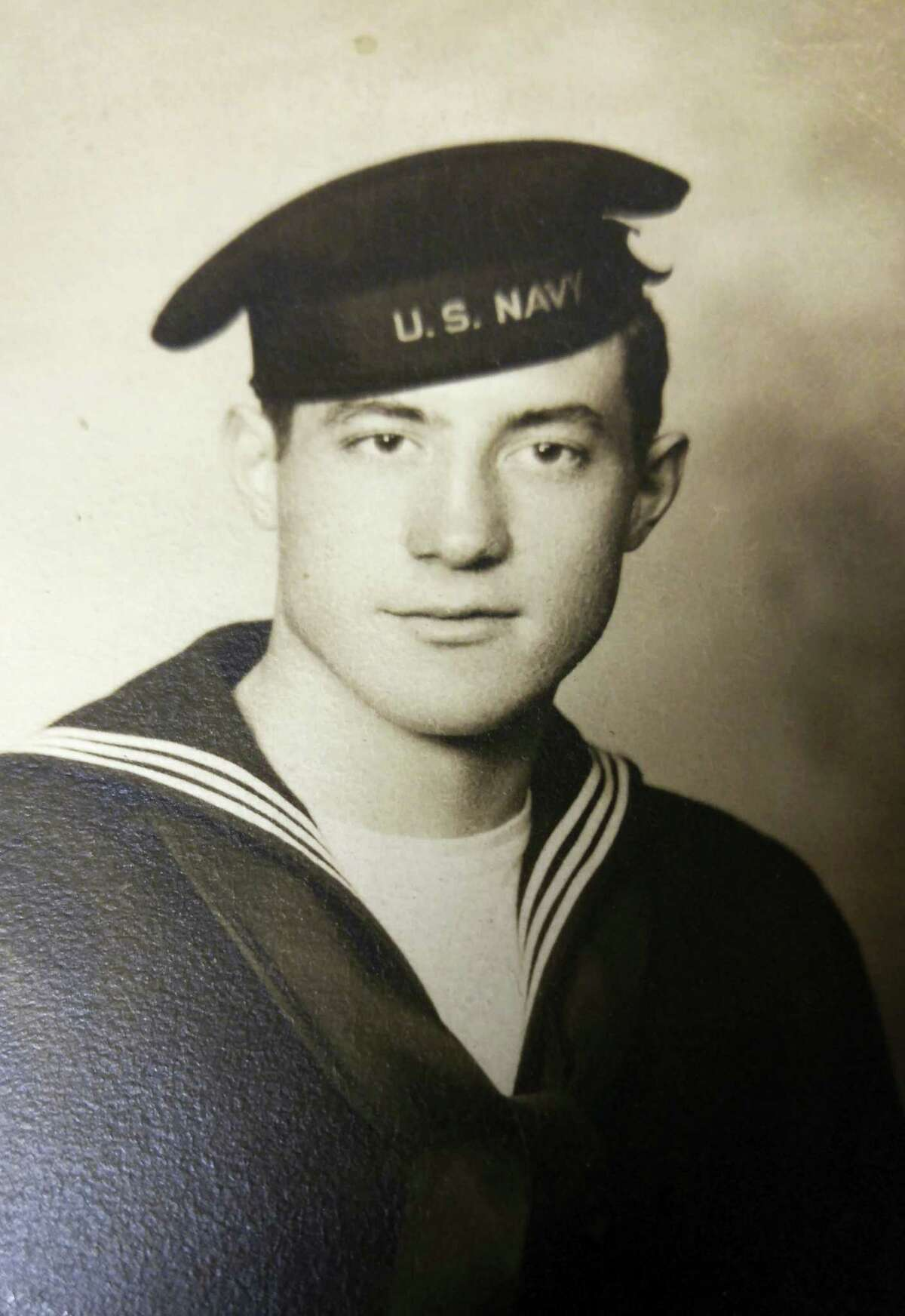 This circa 1942 photo provided by James Lafayette shows Fireman 1st Class Richard Duffy. Duffy is among the American sailors still listed as missing after the U.S. Navy destroyer USS Turner sank near the entrance to New York Harbor during World War II. The Pentagon said it will try to solve the mystery of whether dozens of U.S. sailors listed were actually recovered and buried all along as unknowns in a New York cemetery.