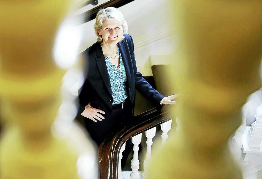Elizabeth Bradley, faculty director of the Yale Global Health Leadership Institute, has been named the next president of Vassar College.. Photo: Peter Hvizdak — New Haven Register   / ©2017 Peter Hvizdak